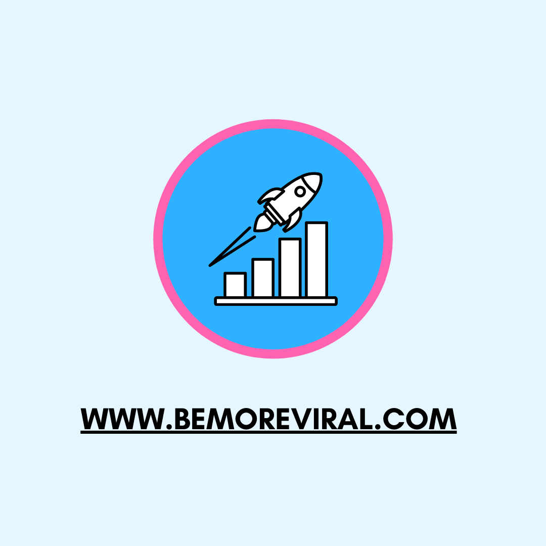 Be More Viral Profile and Logo